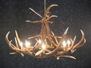 Elk Six Antler Chandelier - Oversized