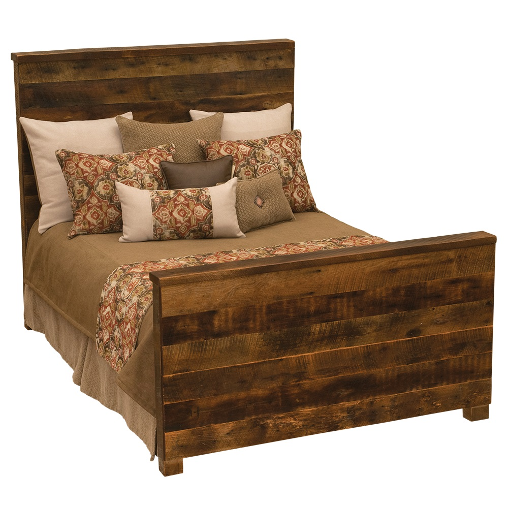 Hickory Nc Furniture Outlets ... Barnwood Uptown Bed Fsl B10107. on king hickory furniture for sale