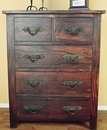 Florence Five Drawer Dresser