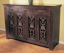 Florence Three Drawer Four Door Buffet