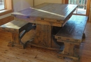 Hawk Creek Trestle Dining Table