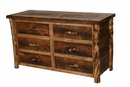 Homestead 6 Drawer Dresser