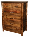 Homestead 6 Drawer Split Top Chest