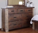 Magnolia 7 Drawer Dresser