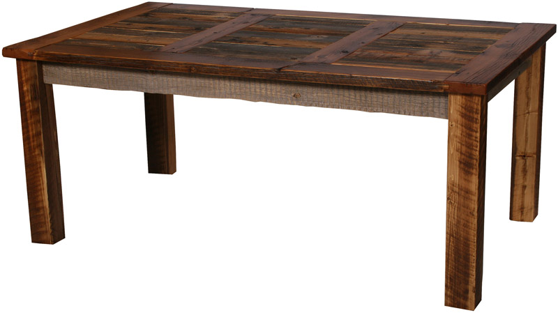Natural Barnwood Dining Table