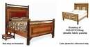 Old Faithful Panel Bed - King