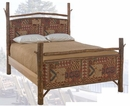 Old Hickory Retreat Bed-Queen