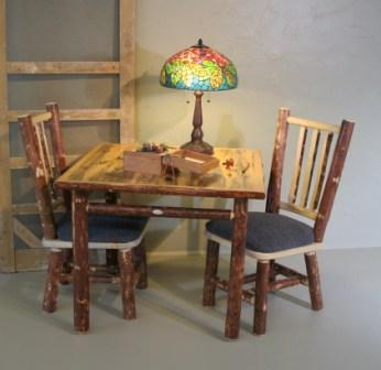 Pine Game Table Lodge Craft