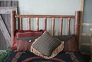 Pine Queen Log Headboard