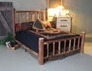 Pine Queen Mountain Log Bed