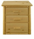Rustic 3-Drawer Chest