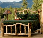 Rustic, Log & Wood Beds