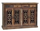 Sonya 4-Drawer 4-Door Cabinet