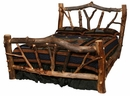 Stickley Forest Aspen Log Bed