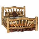 Storm Mountain Aspen Log Bed