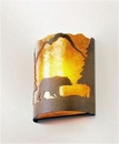 Timber Ridge Bear Sconce