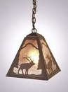 Timber Ridge Elk Pendant - Small