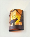 Timber Ridge Wapiti Sconce