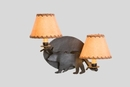 Bear Timber Sconce