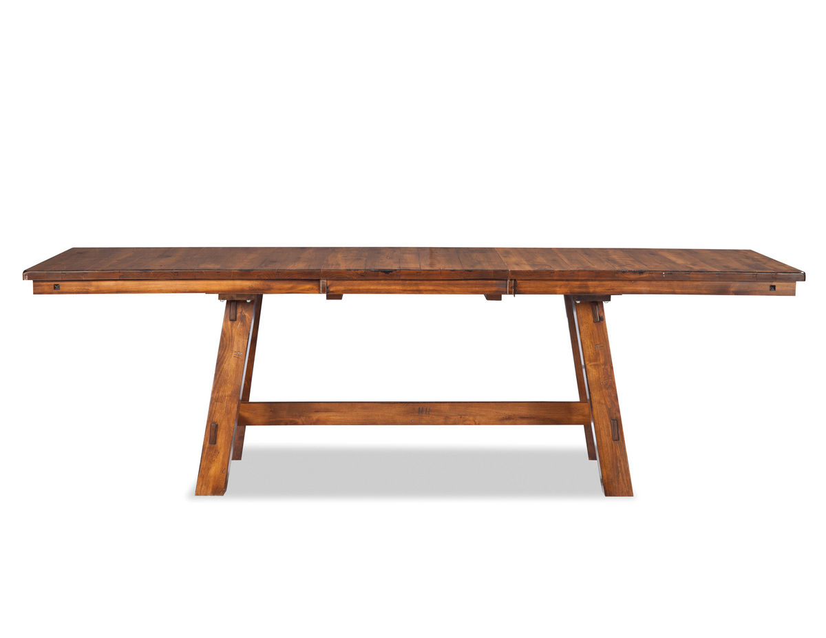 timberline trestle dining table in tl ta sad tbl