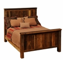 Traditional Barnwood Bed