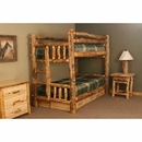 Twin Bunkbed with Built in Ladder