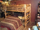 Twin Loft Bed with Built in Ladder