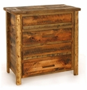 Weathered Pine 4-Drawer Chest