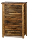 Weathered Pine 6-Drawer Chest