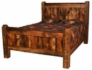 Weathered Pine Bed