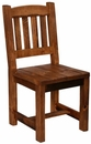 Weathered Pine Side Chair
