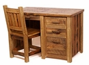Weathered Pine Student Desk