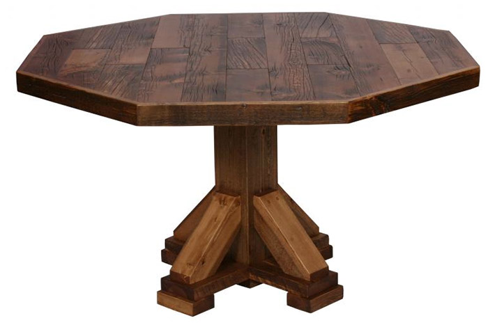 octagon dining table 2