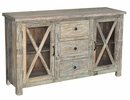Wesley 3 Drawer/2 Door Sideboard
