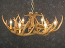Whitetail Nine Antler Chandelier