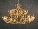 Whitetail Thirty Antler Chandelier