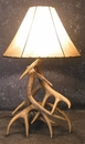 Whitetail Three Antler Table Lamp