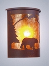 Willapa Bear Sconce - WetLo