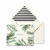 Confetti Dots & Branches Holiday Card Set