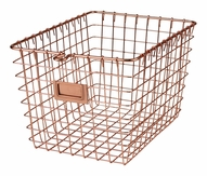 Copper Wire Basket, Small