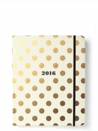 Gold Dot 17-Month Agenda, Large - free shipping