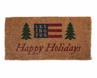 Happy Holidays Estate Door Mat
