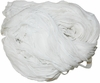 Sari Chiffon SILK 100g Ribbon Art Yarn Snow White