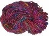 Sari Himalayan SILK 100g Ribbon Art Yarn Multicolored