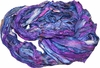 100g Sari SILK Ribbon Yarn Blue Mermaid