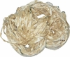 Sari SILK 100g Ribbon Art Yarn Cream