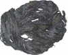 Sari SILK 100g Ribbon Art Yarn Dark Grey Purple