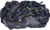 Sari SILK 100g Ribbon Art Yarn Deep Space