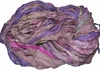 Sari SILK 100g Ribbon Art Yarn Geranium Bud