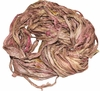100g Sari SILK Ribbon Yarn Gingery